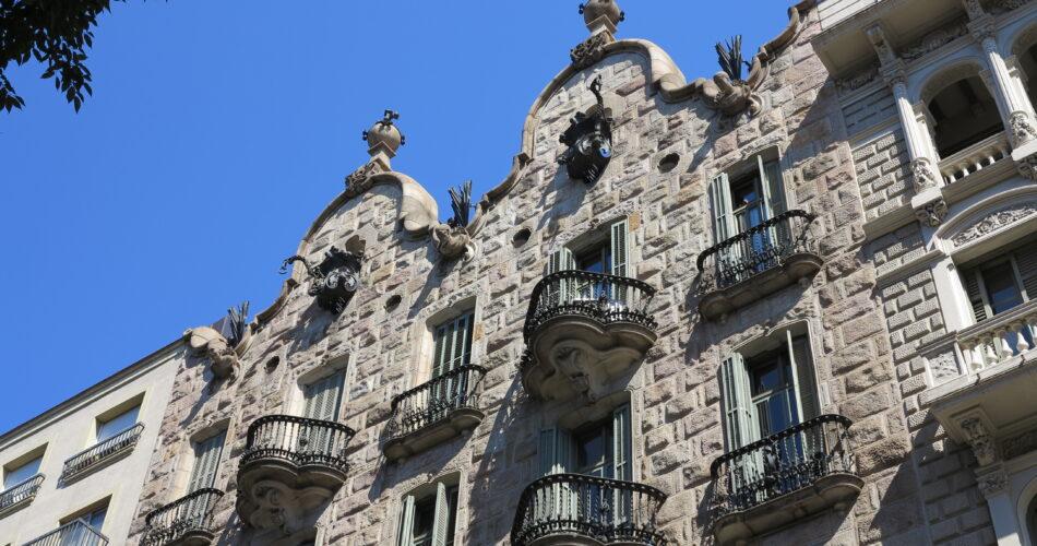 La Casa Calvet de Gaudí a Barcelona
