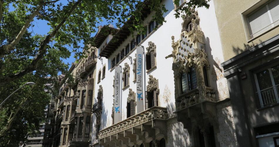 La Casa Macaya de Josep Puig i Cadafalch a Barcelona