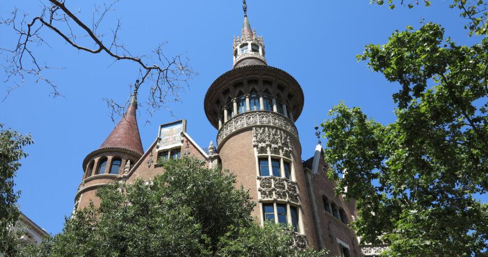 La Casa de les Punxes o casa Terrades a Barcelona