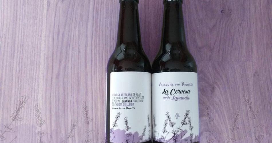 Cervesa amb lavanda d'Aromes de can Rosselló