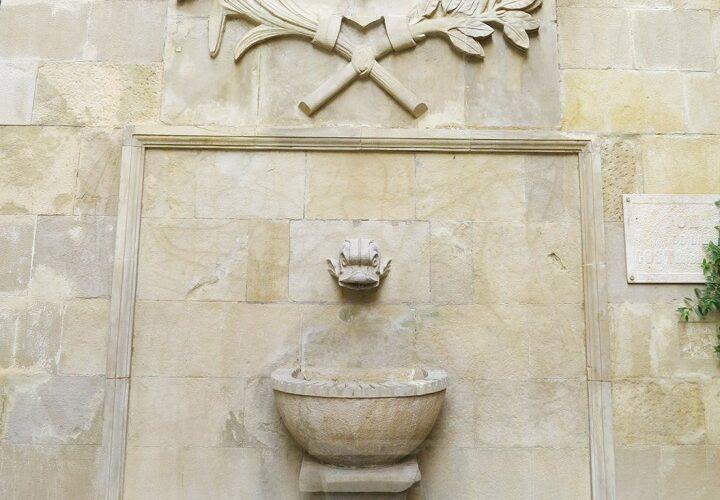 Font de la Costa del Jan a Lleida ciutat