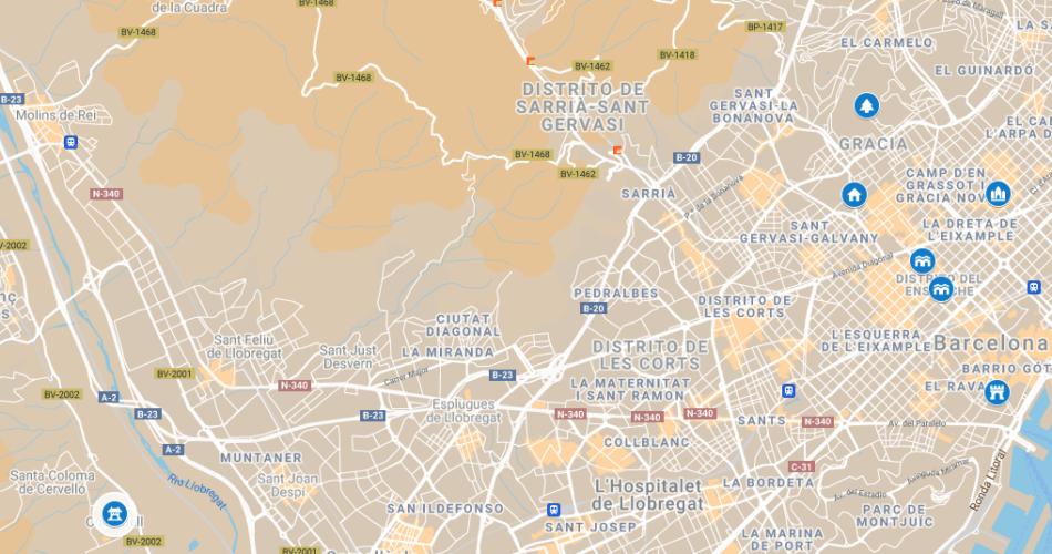 La Ruta de les obres d'Antoni Gaudí Patrimoni Mundial