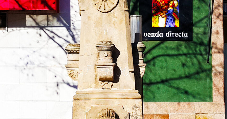 La Font de l'Estació a Lleida ciutat