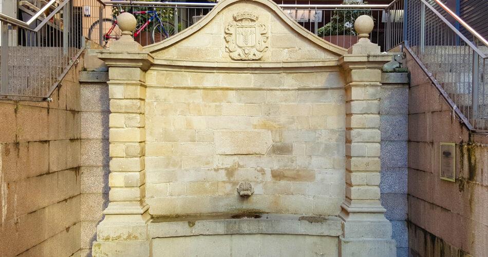 Font Governador a Lleida ciutat