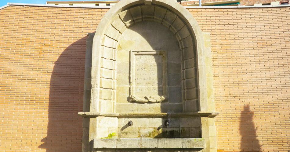 La Font de l'Ensenyança a la ciutat de Lleida